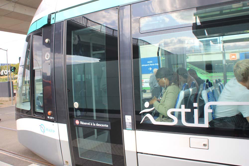 Трамвай Т7 в аэропорт Орли