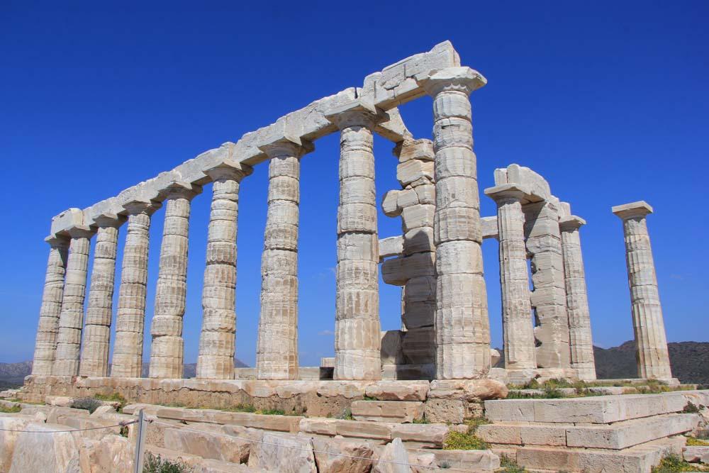 Мыс Сунион. Храм Посейдона
