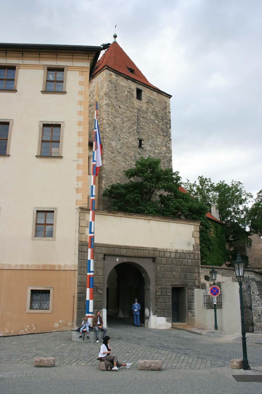 Смотровая площадка у Черной башни. Прага