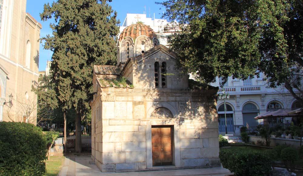 Малая Митрополия. церковьПанагия Горгоепикоос