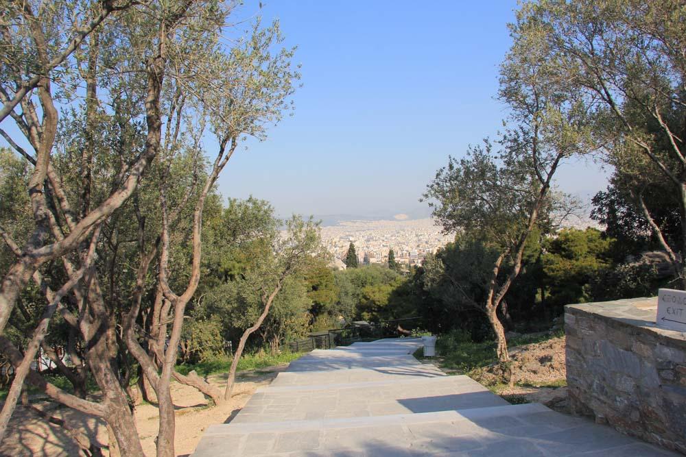 Дорога к Акрополю
