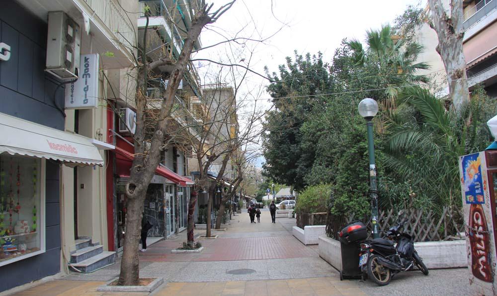 пешеходная улица Драку