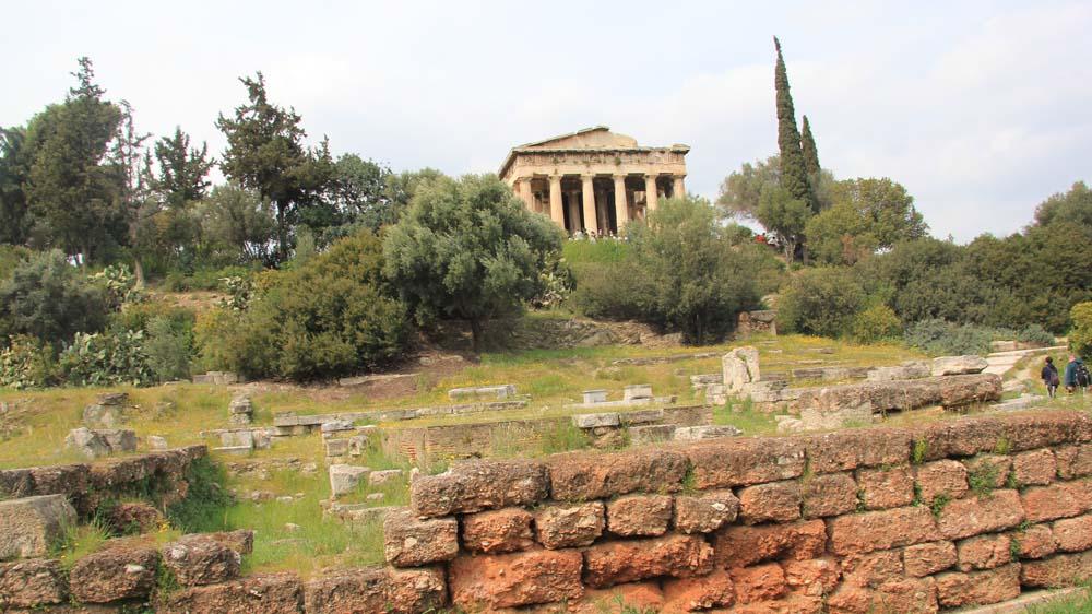 Афины за 3 дня: Древняя Агора и Керамик. Маршрут прогулки