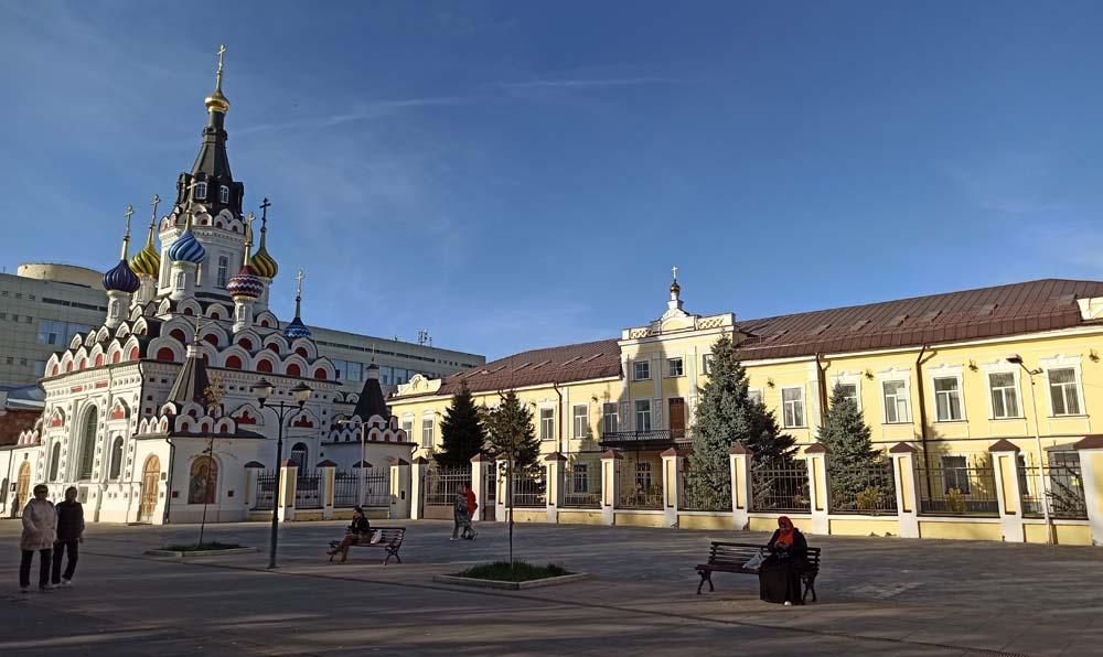 Архиерейский дом и церковь Утоли моя печали