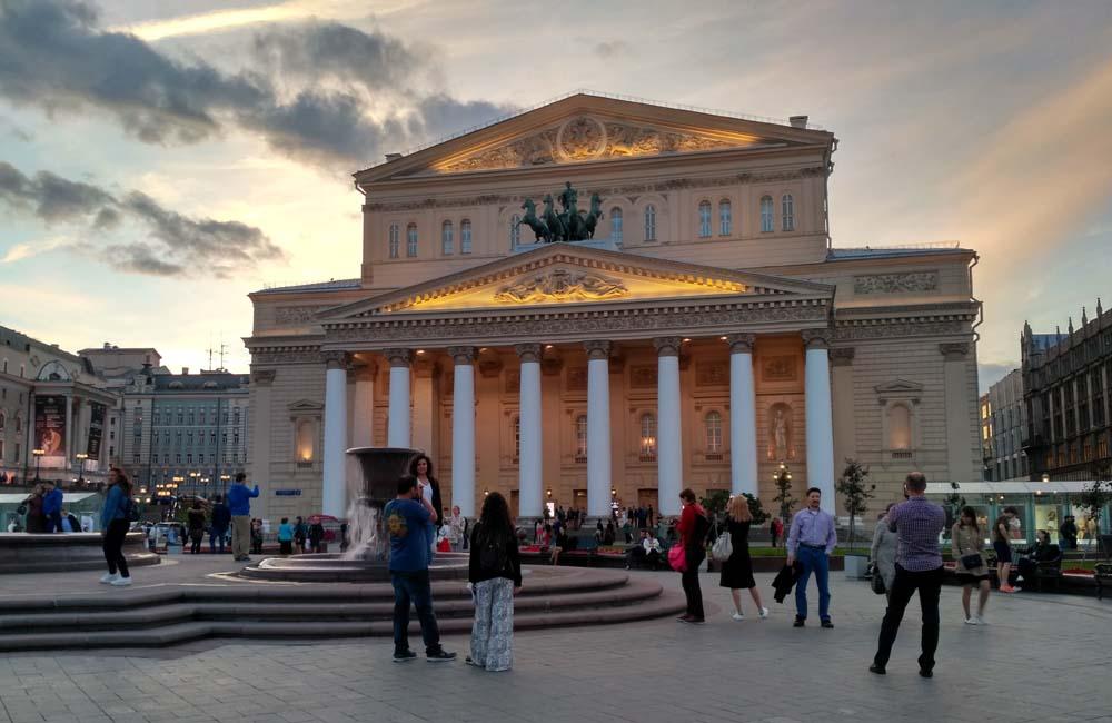 Большой театр. Театральная площадь
