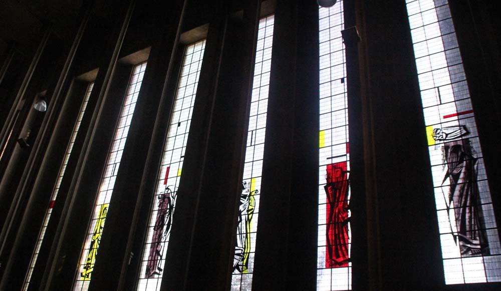 Витражи Eglise Saint Louis