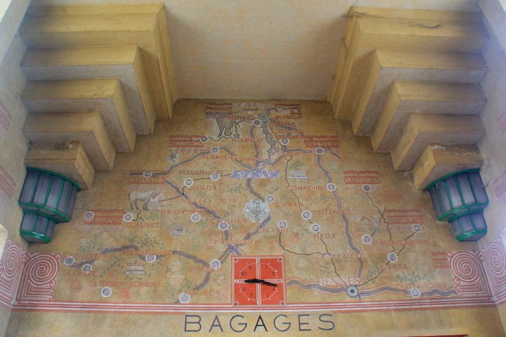 Мозаика в вокзале