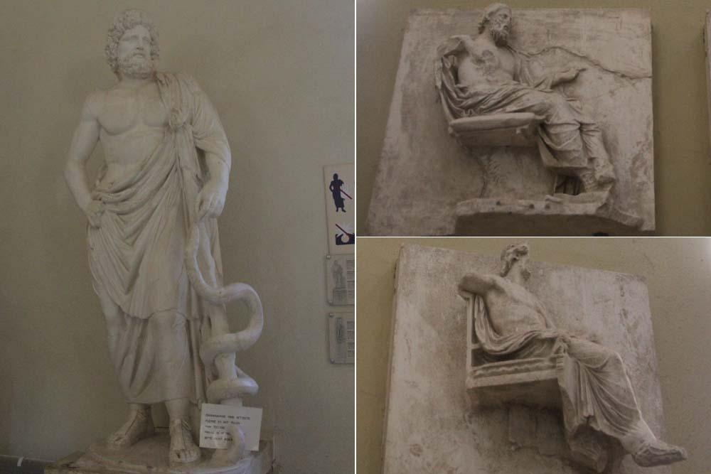 Статуя Асклепия
