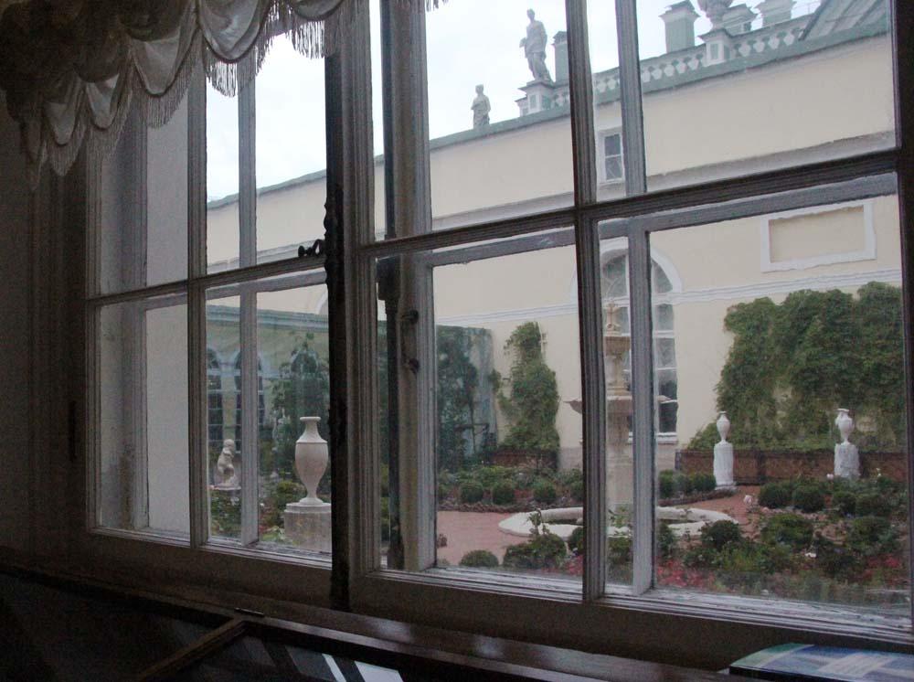 Вид из окна Эрмитажа