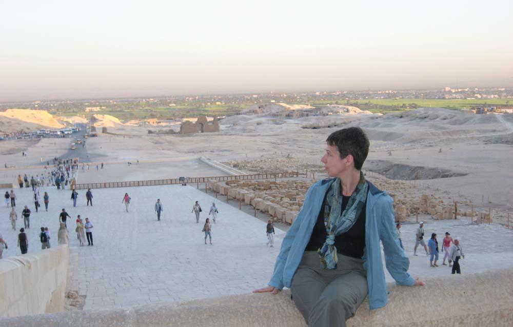 Вид на долин от храма