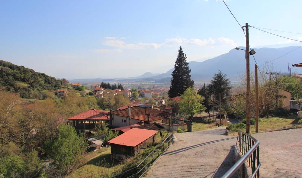 Вид на Каламбаку