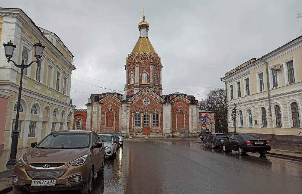 Вид на Вознесенский собор