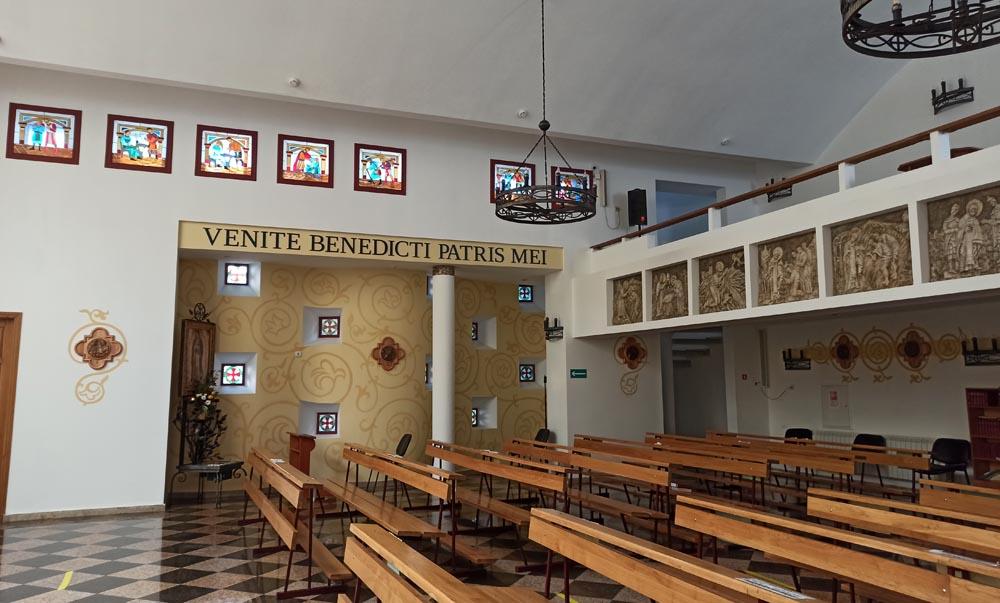 Католический собор. Интерьер