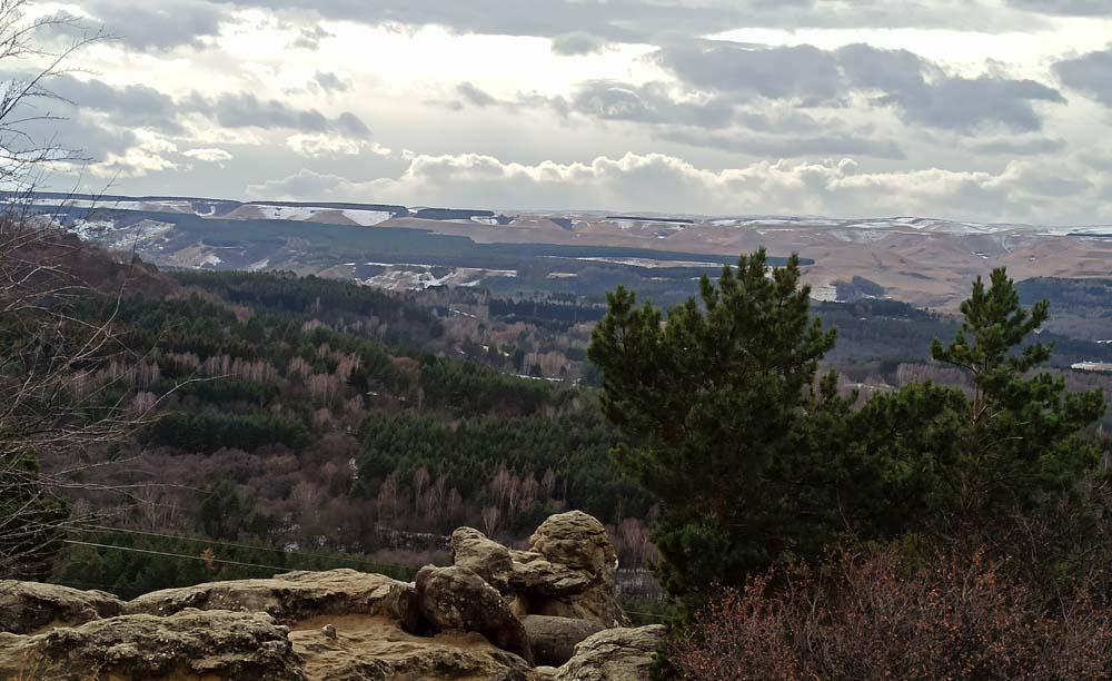 Вид с горы Красное Солнышко