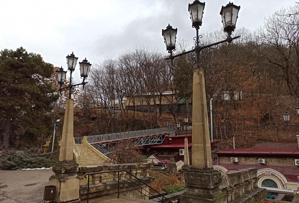 Мост над улицей