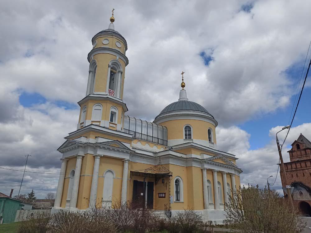 Крестовозвиженская церковь