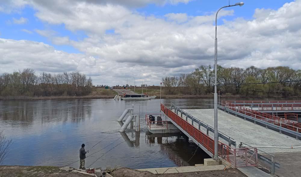 Бобреневский наплавной мост