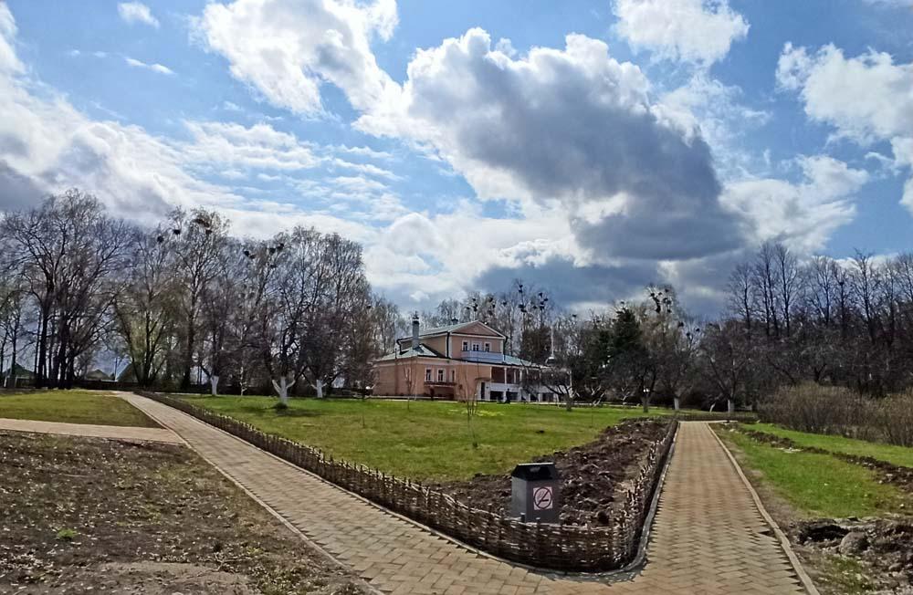 Вид на усадьбу Кашиной