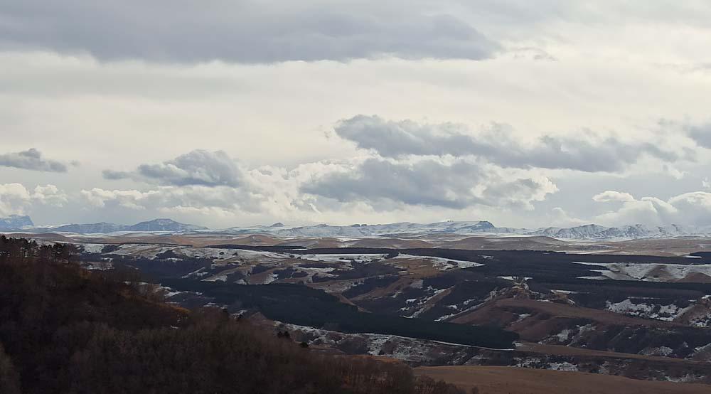 Вид с горы Малое седло