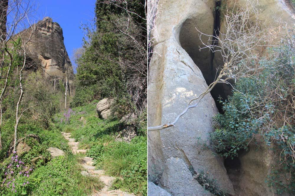 Пещера и дорога