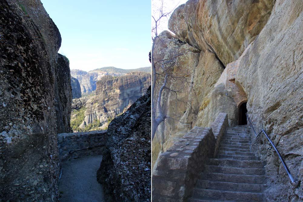 Лестница в монастырь святой Троицы
