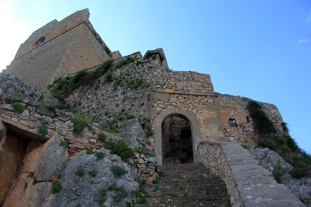 Вход в крепость Паламиди