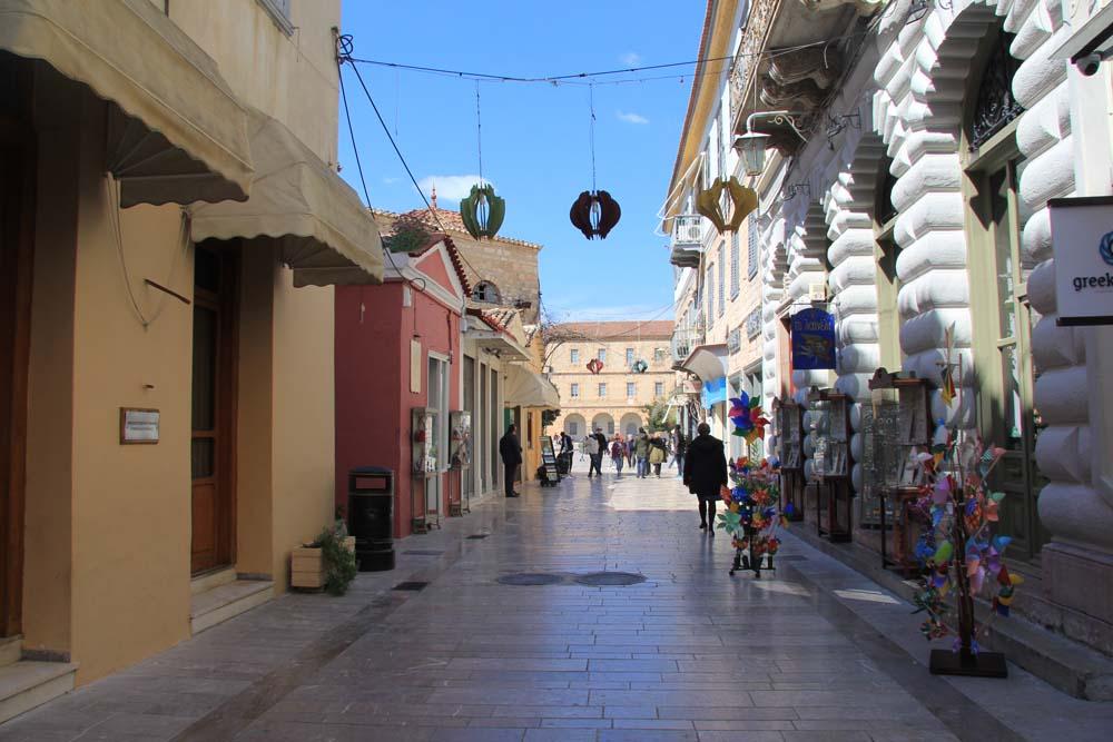 Улицы Нафплиона