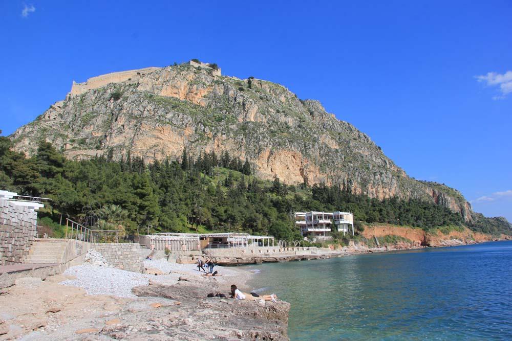 пляж Арванития