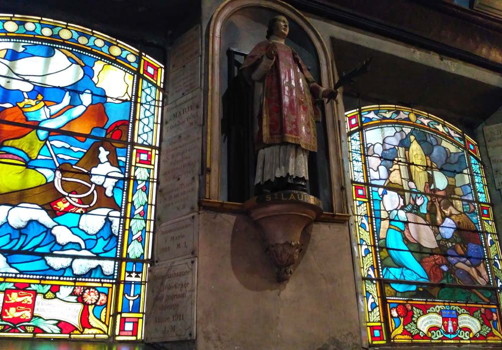 часовняNotre-Dame de Grace