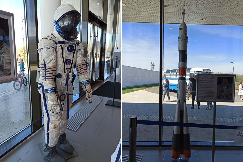 Парк покорителей космоса. Музейные экспонаты