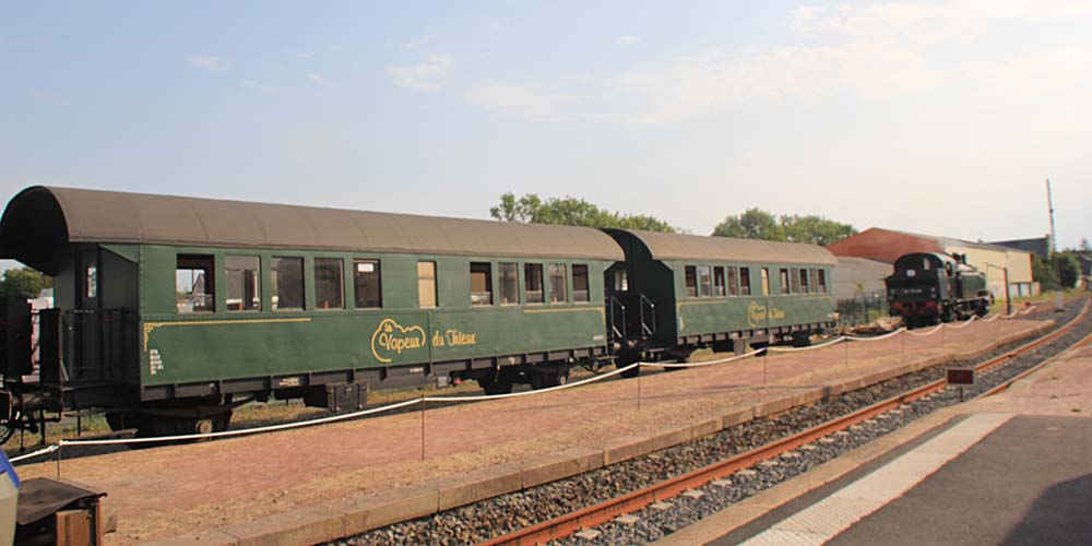 туристический поезд La Vapeur du Trieux