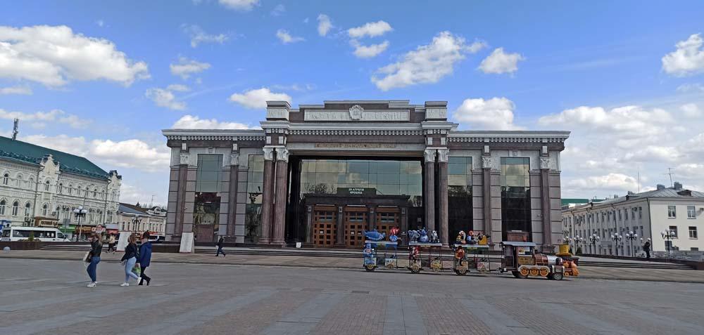 драмтеатр имени Луначарского
