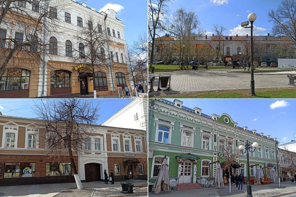 Купеческие особняки на Московской