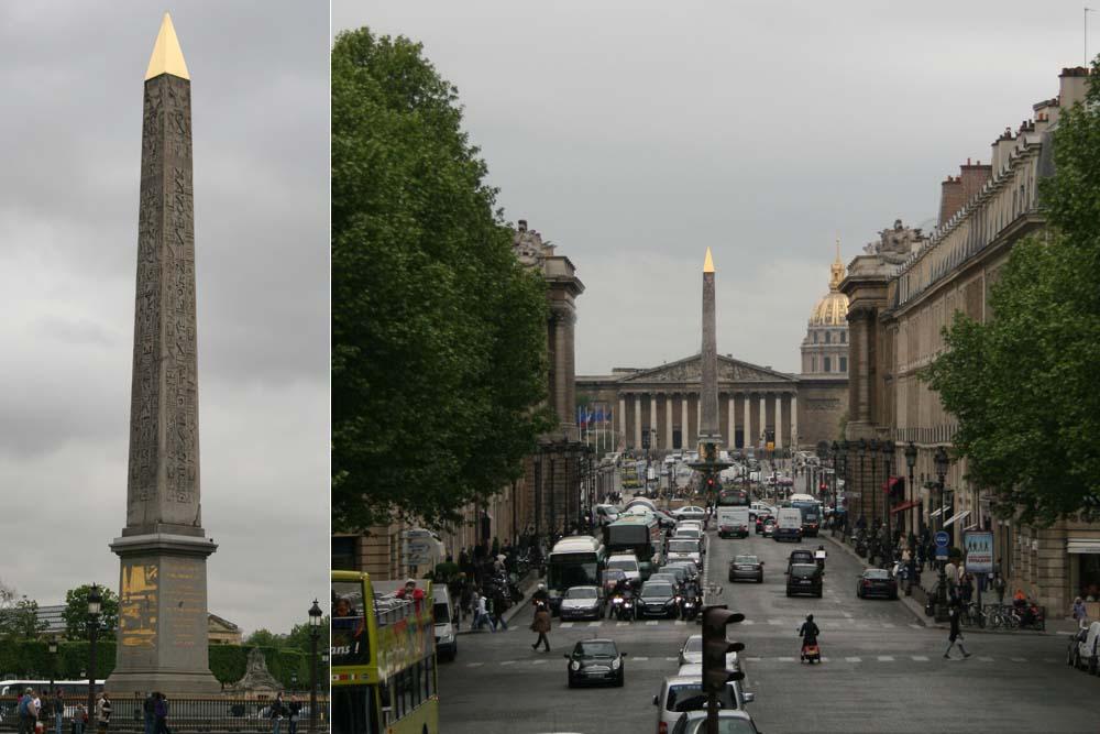 Луксорский обелиск на площади Конкорд