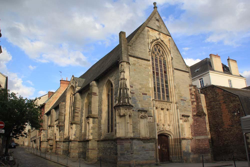 часовня Saint-Yves