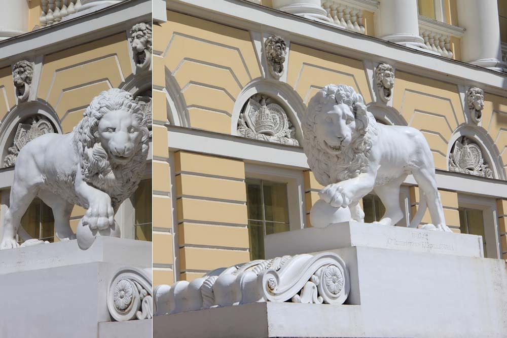 Львы Русского музея