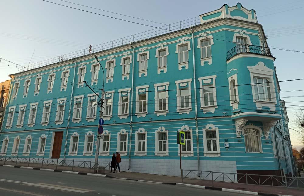 Гостиница Н.К. Штейерта