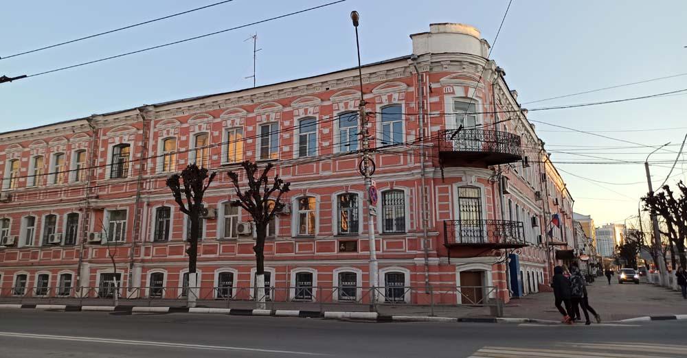 Бывшая гостиница Ланина