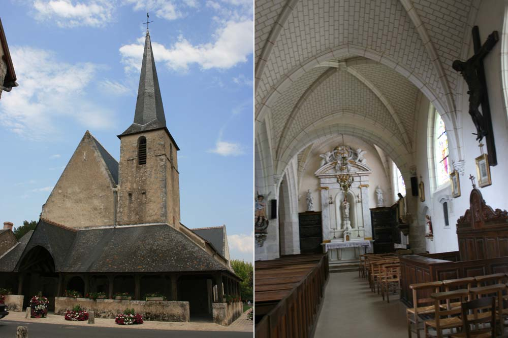 церковь Сент-Этьен де Шеверни