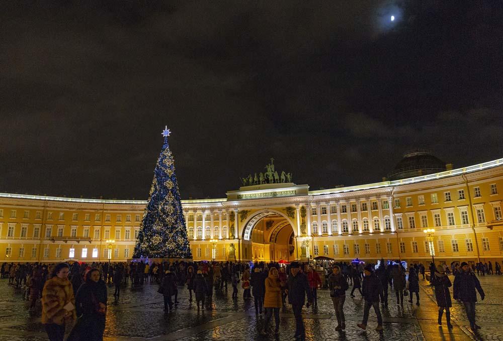 Елка на Дворцовой площади