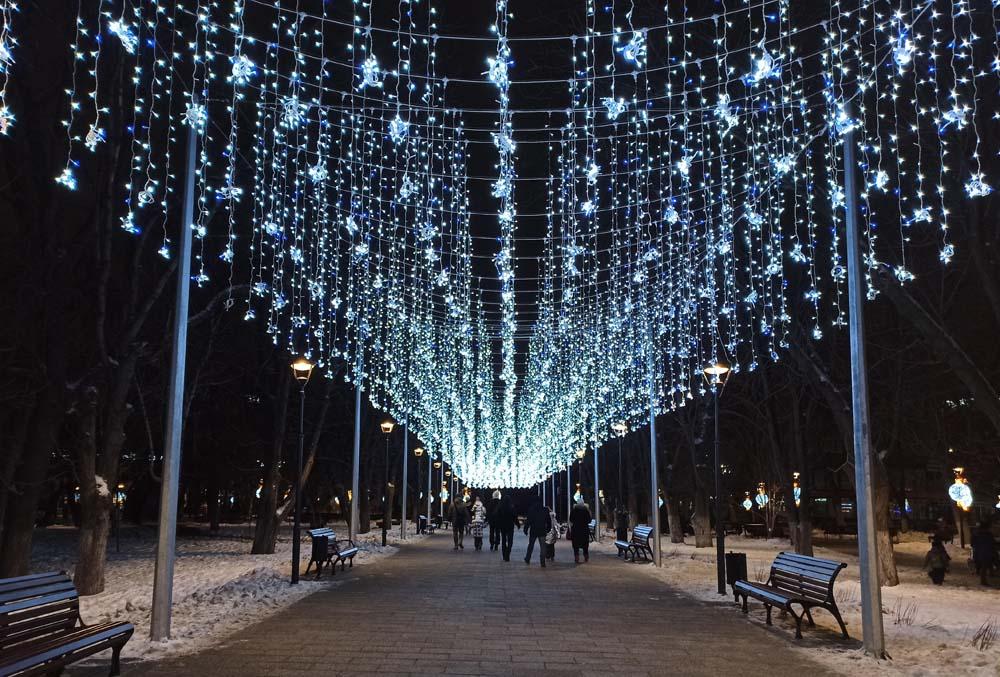 Площадь Кирова зимой