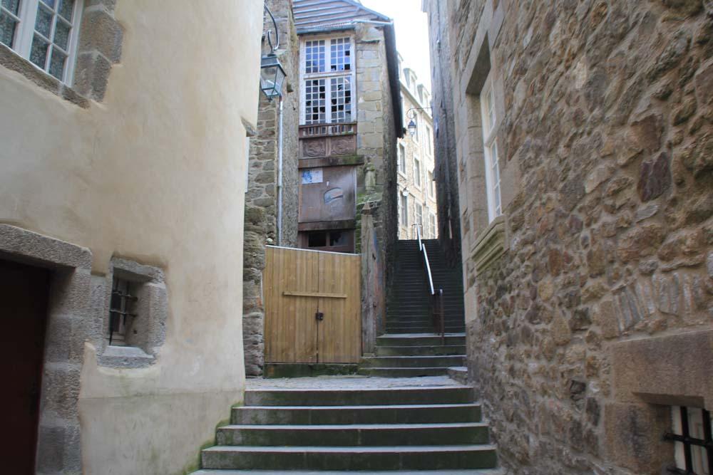 escaliers de la Grille