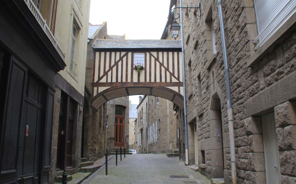 Улицы Сен-Мало