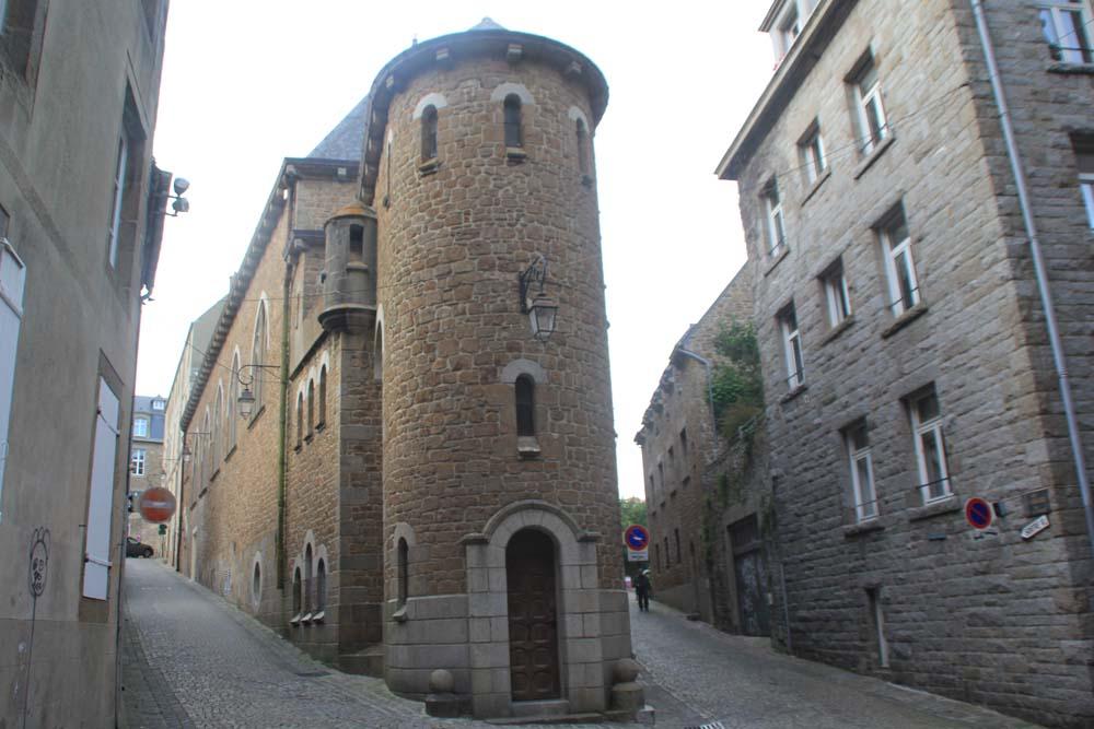 Пресвитерия собора Сен-Мало