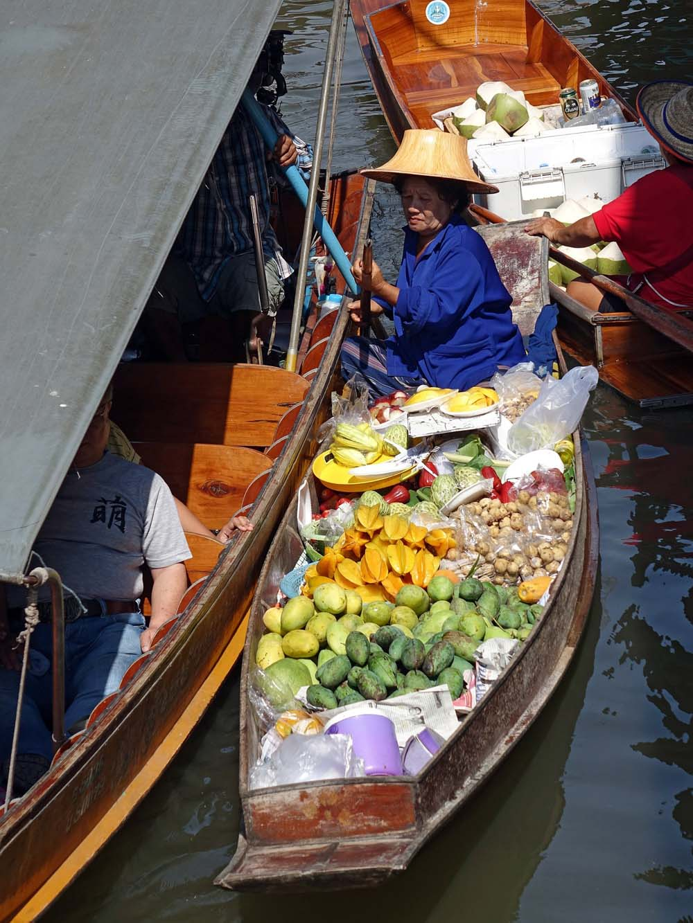 Damnoen Saduak. Как добраться на плавучий рынок из Бангкока