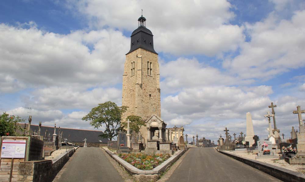 колокольня старой церкви святого Мартина
