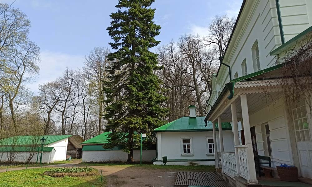 Дом Толстого и белая кухня