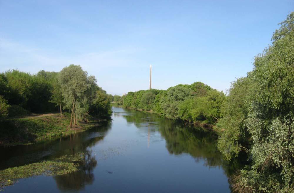 Вид на реку Мухавец