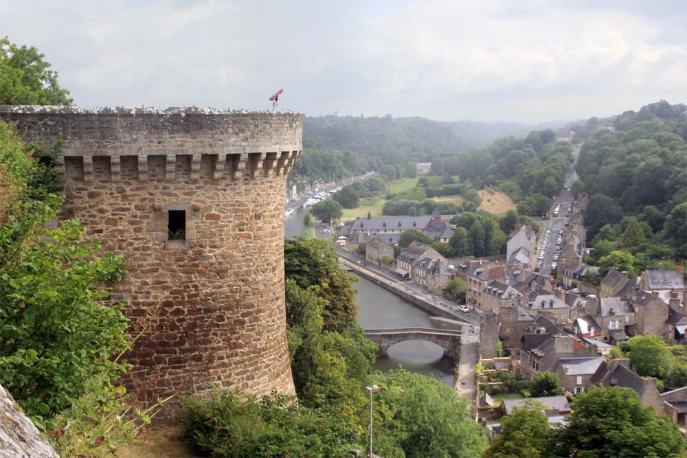 Динан. Вид с замковой стены