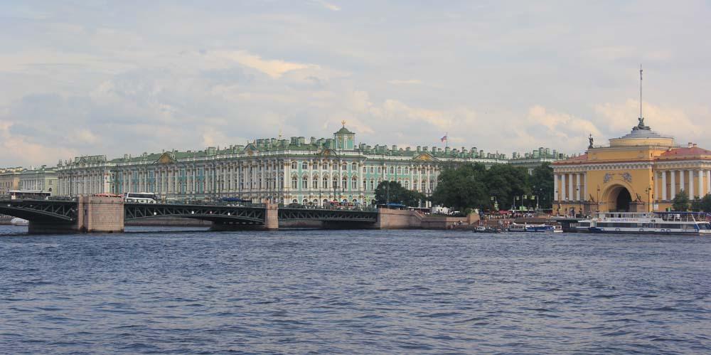 Дворцовый мост. Зимний дворец